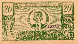 VIETNAM : 20 Dong 1947 (unc) - Vietnam