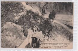 BEUVRAIGNES -guerre 1914-1915 -entrée De La Chapelle De CESSIER - Beuvraignes