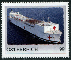 ÖSTERREICH / PM Nr. 8109689 / Rot Kreuz Schiff / Postfrisch / **