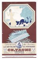 Art Déco Dépliant Commercial Tarif 1932 CONSERVES LA SEMEUSE DU PERIGORD CH YAUNE Foie Gras Truffé Périgueux Dordogne - Advertising