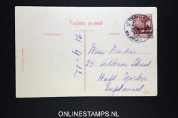 Germany: Postcard Tanger Deutsche Post In Marocco  To Hull 1912  UK - Offices: Morocco