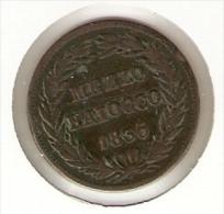 MONEDA DE VATICANO DE 1/2 BAIOCCO DEL AÑO 1836  (COIN) GREGORIO XVI - Vaticano (Ciudad Del)