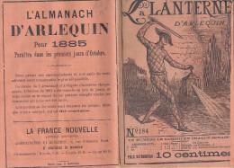 LA LANTERNE D'ARLEQUIN  N° 184 -UN NUMERO CHAQUE SAMEDI DE CHAQUE SEMAINE-4ème Année - Livres, BD, Revues