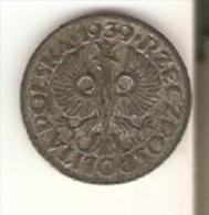 MONEDA DE POLONIA DE 1 GROSZY DEL AÑO 1939  (COIN) - Polonia