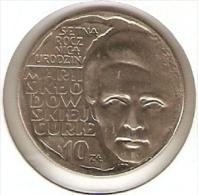 MONEDA DE POLONIA DE 10 ZLOTYCH DEL AÑO 1967  (COIN) MARIE CURIE - Polonia