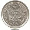 MONEDA DE POLONIA DE 5 ZLOTYCH DEL AÑO 1974 J  (COIN) - Polonia