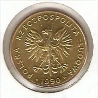 MONEDA DE POLONIA DE 10 ZLOTYCH DEL AÑO 1990  (COIN) - Polonia