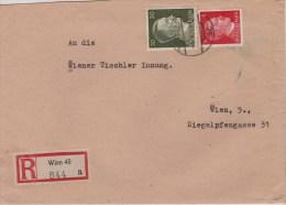 Austria; Registered Cover 1943 - 1918-1945 1ra República