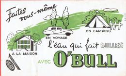 BUVARD O BULL FAITES VOUS MEME L EAU QUI FAIT DES BULLES PRODUIT DAGBAR - Buvards, Protège-cahiers Illustrés