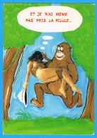 CPM Et Je N'ai Même Pas Pris La Pilule Femme Nue Dans Les Bras D'un Gorille-  Seins Nus  - Breasts Nude Nu Erotique - Fine Nudes (adults < 1960)