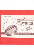 BUVARD NOYAMA CIRAGE ENCAUSTIQUE A BOULOGNE BILLANCOURT HAUTS DE SEINE - Carte Assorbenti