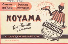 BUVARD NOYAMA CIRAGE ENCAUSTIQUE A BOULOGNE BILLANCOURT HAUTS DE SEINE CHAUSSURE - Buvards, Protège-cahiers Illustrés