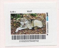 Privatpost - Biberpost  - Wolf (Canis Lupus) - Chiens