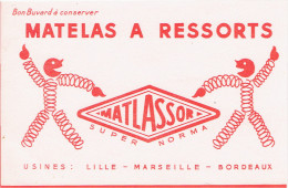 BUVARD MATELAS MATLASSOR A RESSORTS LILLE MARSEILLE BORDEAUX