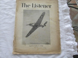 THE LISTENER DU 5 JUIN 1941 PUBLIER TOUS LES JEUDI PAR LA RADIODIFFUSION - Magazines & Papers
