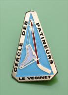 Pin´s Du Cercle Des Patineurs - Le Vésinet - Yvelines - Skating (Figure)