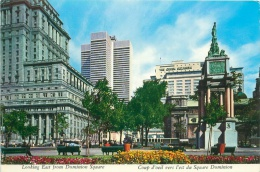 CPM - MONTREAL - Looking East From Dominion Square - Montreal
