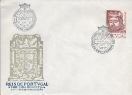 King Afonso III. Kings Of Portugal. 1st Dynasty. Lions. FDC. Portugal. - 1910 - ... Repubblica