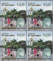 EL SALVADOR VILLA PALESTINA BLOCK Of 4 Sc 1686 MNH 2008 - El Salvador