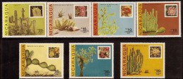 Nicaragua Cacti Sc 1639-1645 MNH 1987 - Sukkulenten