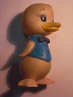 1 FIGURINE FIGURE DOLL PUPPET DUMMY TOY IMAGE POUPÉE - DUCK VINTAGE SQUEAKS - Birds - Ducks