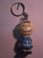 1 FIGURINE FIGURE DOLL PUPPET DUMMY TOY IMAGE POUPÉE - FCP PORTUGAL PORTO SOCCER KEY RING SNOOPY CHARLIE BROWN - Snoopy