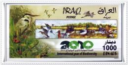 IRAQ STAMP:2010  SOUVENIR SHEET (mnh ) - INTER. YEAR BIODIVERSITY- (MNH) - Iraq