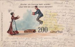 1903 D. Reich,  EF. aus MH. MILITARIA, BESSERE Karte, gelaufen.  MK