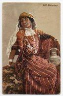Bedouine Woman  Ca1900 Vintage Original Postcard Cpa Ak (W4_816) - Afrika