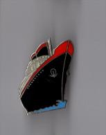 Pin's Bateau / Paquebot (signé Démons Et Merveilles) Grand Format - Hauteur: 3,2 Cm - Barcos