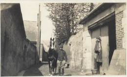 Guerre 1914-18 - Avril 1916 - Bouchu Et Filloux - Cavalier Et Sa Monture - War, Military