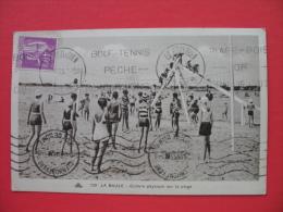 LA BAULE-Culture Physique Sur La Plage - Volleyball