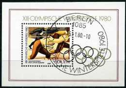 DDR - Michel Block 57 = 2482 - OO Gestempelt (A) - Winterolympiade - [6] Oost-Duitsland