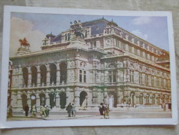 Austria - WIEN -Staatsoper - Verlag Karl Kühne  Wien  Neubaugasse 8   D128320 - Viena