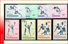 Rwanda 0076/83** Jeux Olympiques de Tokio  MNH