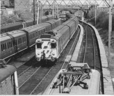 Altrincham Electric Unit Railway Depot - Railway