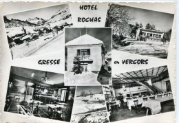 CPSM 38 GRESSE EN VERCORS HOTEL ROCHAS    Grand Format 15 X 10,5 - Autres Communes