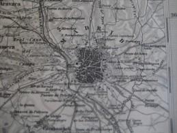 1877 JUSTUS PERTHES - 20 Maps EUROPE ITALY IRELAND GERMANY FRANCE SCHWEIZ - Adolf STIELER Gotha Approx. 48X38cm - Mapas Geográficas
