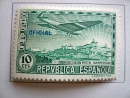 Spagna - Espana - 1931 - Congreso Union Postal Panamericana - Correo Aereo - Oficial - 10 Cts 10c - * - Nuovi