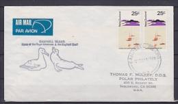 New Zealand 1981 Campbell Islands Cover Ca Campbell Islands (20205) - Ross Dependency (Nieuw-Zeeland)