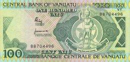Vanuatu 100 Vatu 1982 Pick 1 UNC - Vanuatu