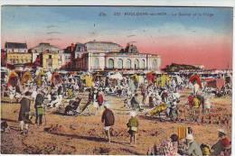 62. BOULOGNE SUR MER . LE CASINO LA PLAGE . ANIMATION . Editions CAP - Boulogne Sur Mer