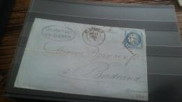 LOT 249590 TIMBRE DE FRANCE OBLITERE MARQUE POSTALE