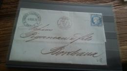 LOT 249602 TIMBRE DE FRANCE OBLITERE MARQUE POSTALE