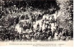 83 Toulon Catastrophe Explosion Du Cuirassé LIBERTE (neuve) Cuirassé République Neuve - Toulon