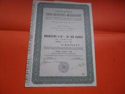 Imprimerie CHAIX DESFOSSES NEOGRAVURE (1967) - Actions & Titres