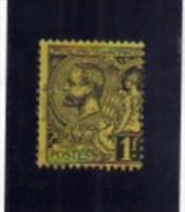 MONACO 1891 - 1921 PRINCE ALBERT I PRINCIPE ALBERTO FR 1 F MH - Neufs