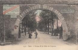 CPA - Salon De Provence - L'arceau Et Les Allées De Craponne - Salon De Provence