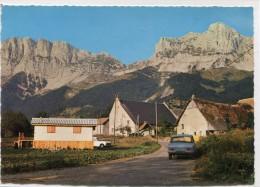 CPSM 38 GRESSE EN VERCORS LE GRAND VEYMONT ET LE HAMEAU DE LA VILLE    Grand Format 15 X 10,5 - France