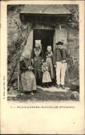 29 - PLOUGASTEL-DAOULAS - Costumes Bretons - Famille - Plougastel-Daoulas